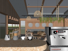 Model su 2019 quán cafe - Concept coffee